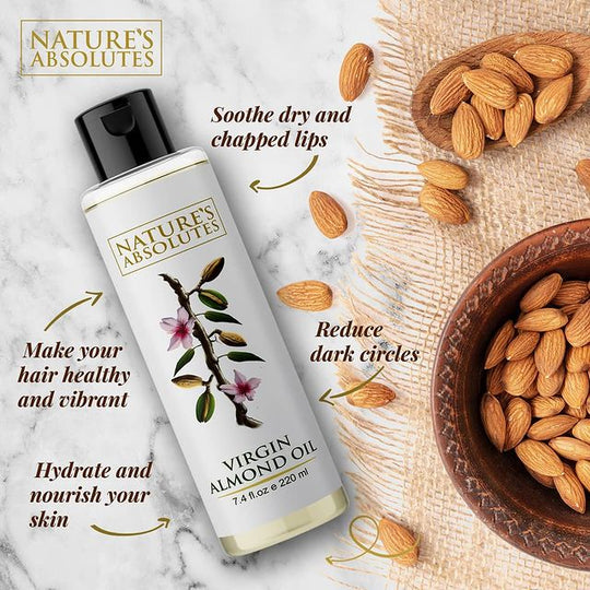 Benefits of Virgin Almond Oil