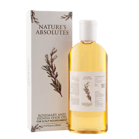 Rosemary and Henna Hair Oil   (220ml)