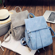 New Fashion Women Backpacks PU Leather backpacks girl school bag casual rucksack Bolsas travel bag mochila feminina XD3577 - Xinoki