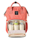 Designer waterproof diaper bag