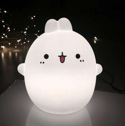 Cartoon rabbit nursery night light