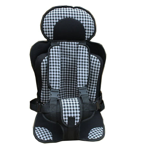 Secure Lightweight Child Safety Seat (Plaid Colors)