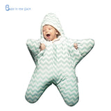 Cute starfish padded sack