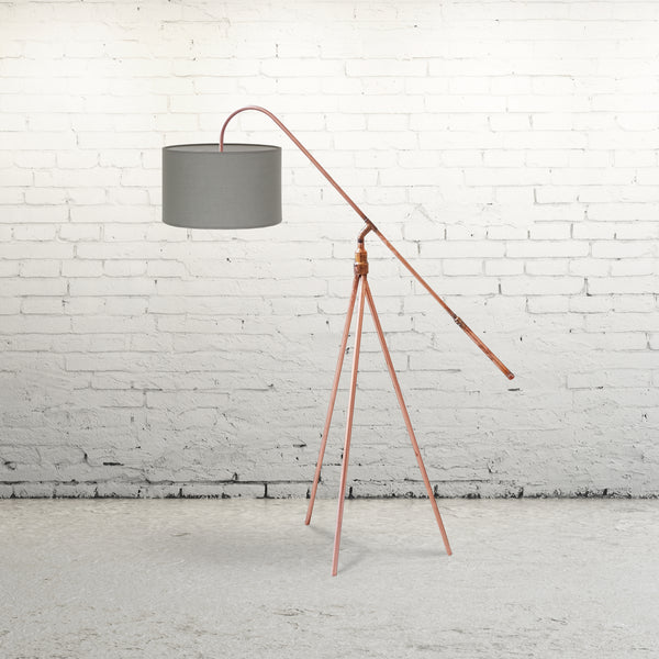 The Balanced Punk - Balanced Copper Tripod Floor Lamp - for sale in South Africa