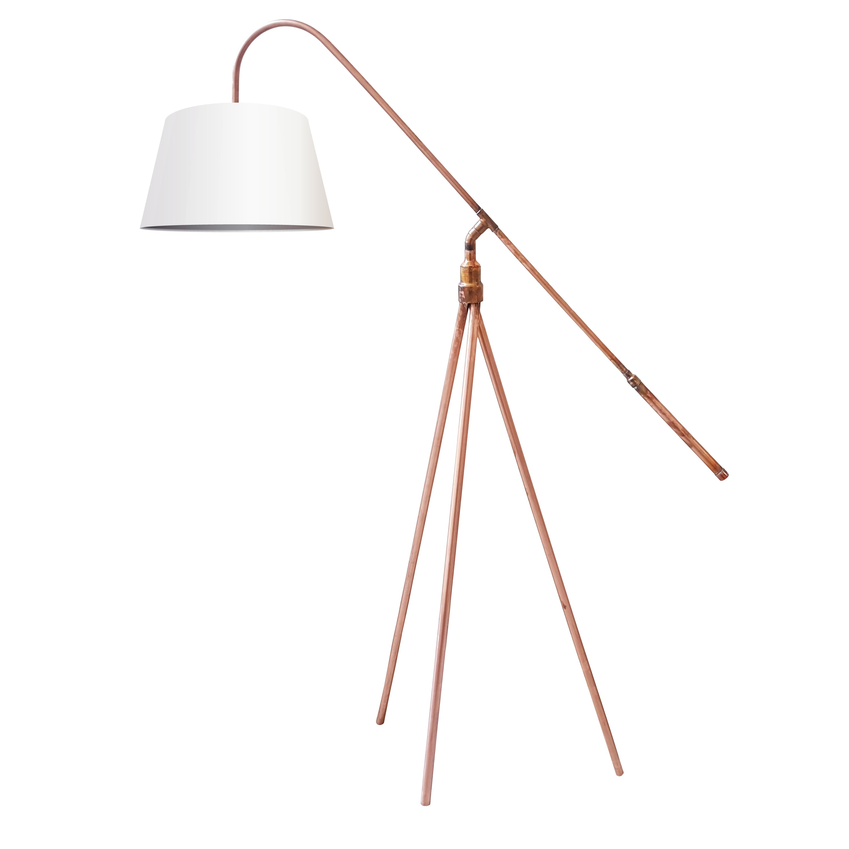The balanced punk balanced copper tripod floor lamp steam punkd the balanced punk balanced copper tripod floor lamp for sale in south africa aloadofball Choice Image
