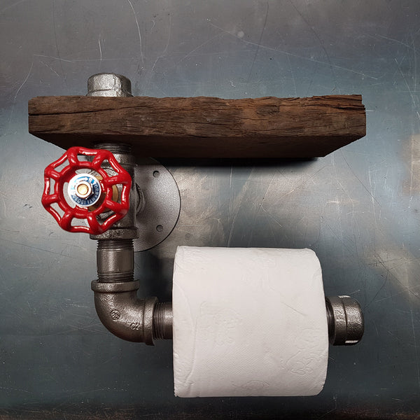 Toilet Roll Holder (With Valve)