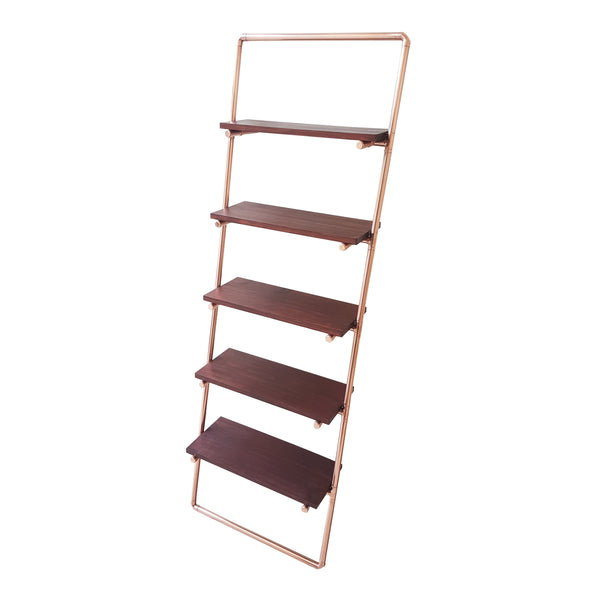 Stacked Punk - Copper Pipe Leaning Shelf - for sale in South Africa