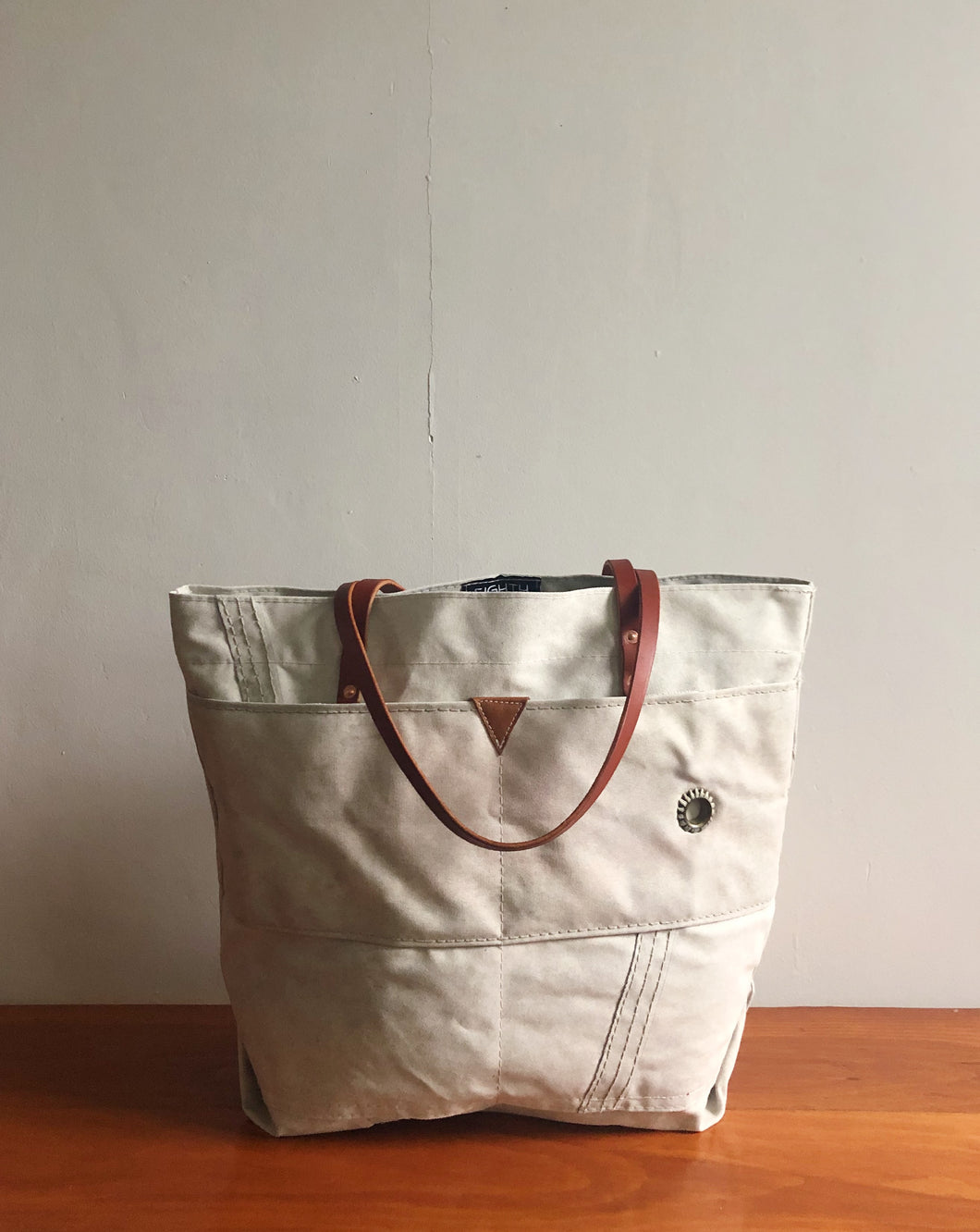 MAINE TOTE LARGE - OYSTER