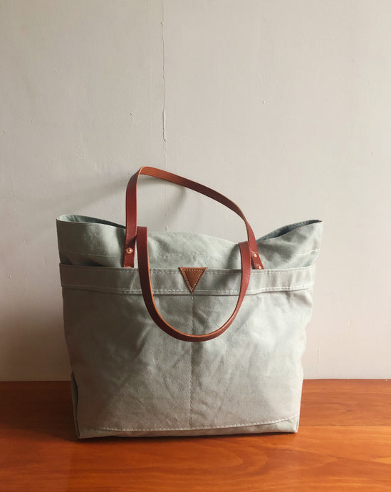 MAINE TOTE LARGE - SEA MIST