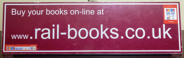 Rail Books Stand Sign