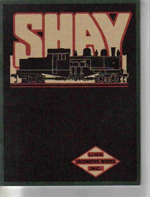 1919 Shay Locomotive Catalog