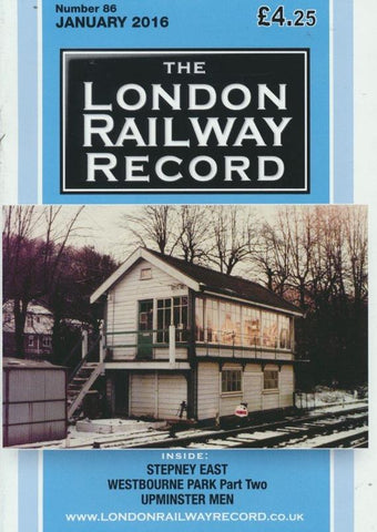 London Railway Record - Number 86