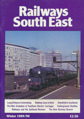 Railways South East - Winter 1989/90