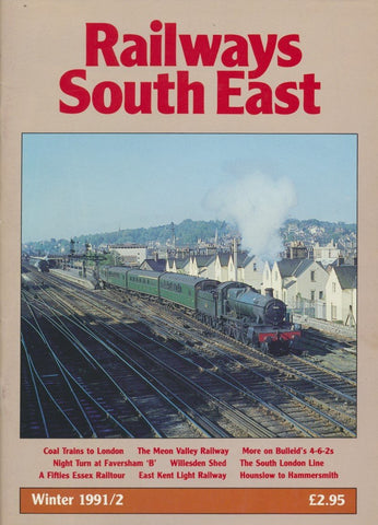 Railways South East - Winter 1991/92