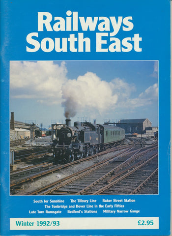 Railways South East - Winter 1992/93