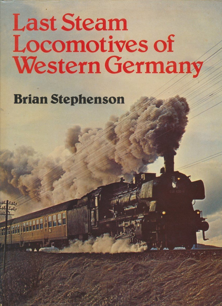 Last Steam Locomotives of Western Germany