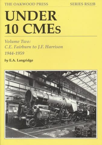 Under 10 CMEs Volume Two: C.E. Fairburn to J.F. Harrision 1944-1959