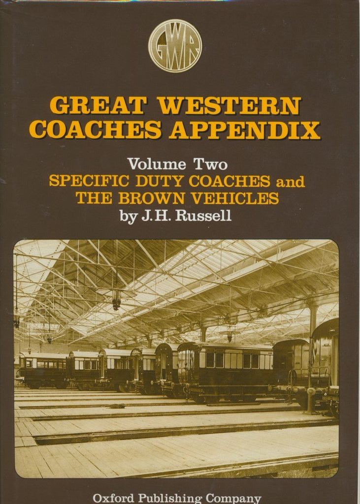Great Western Coaches Appendix 2