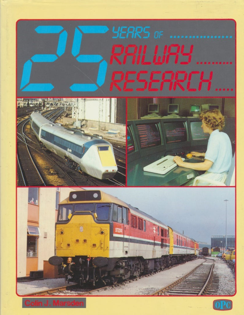 25 Years of Railway Research