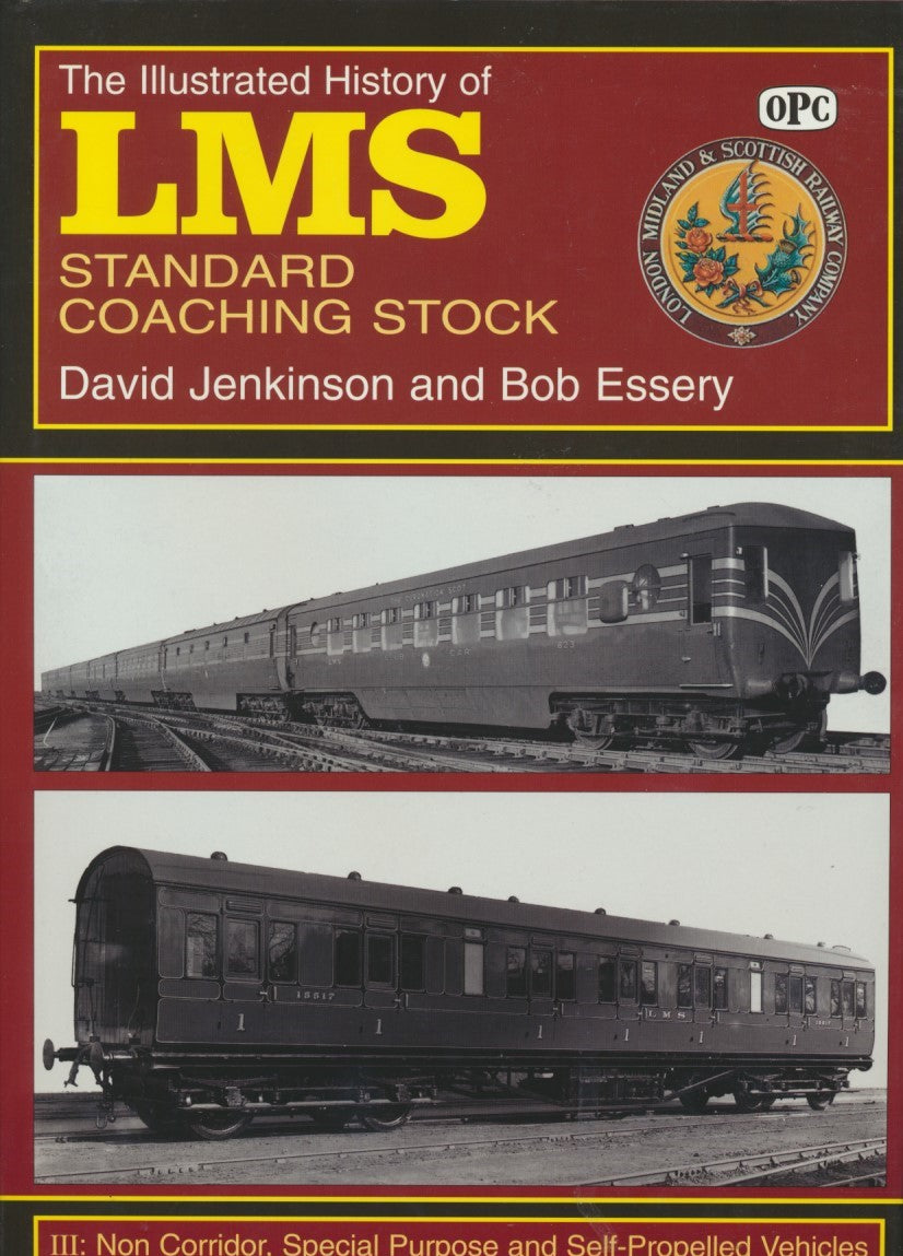 The Ilustrated History of LMS Standard Coaching Stock - part 3