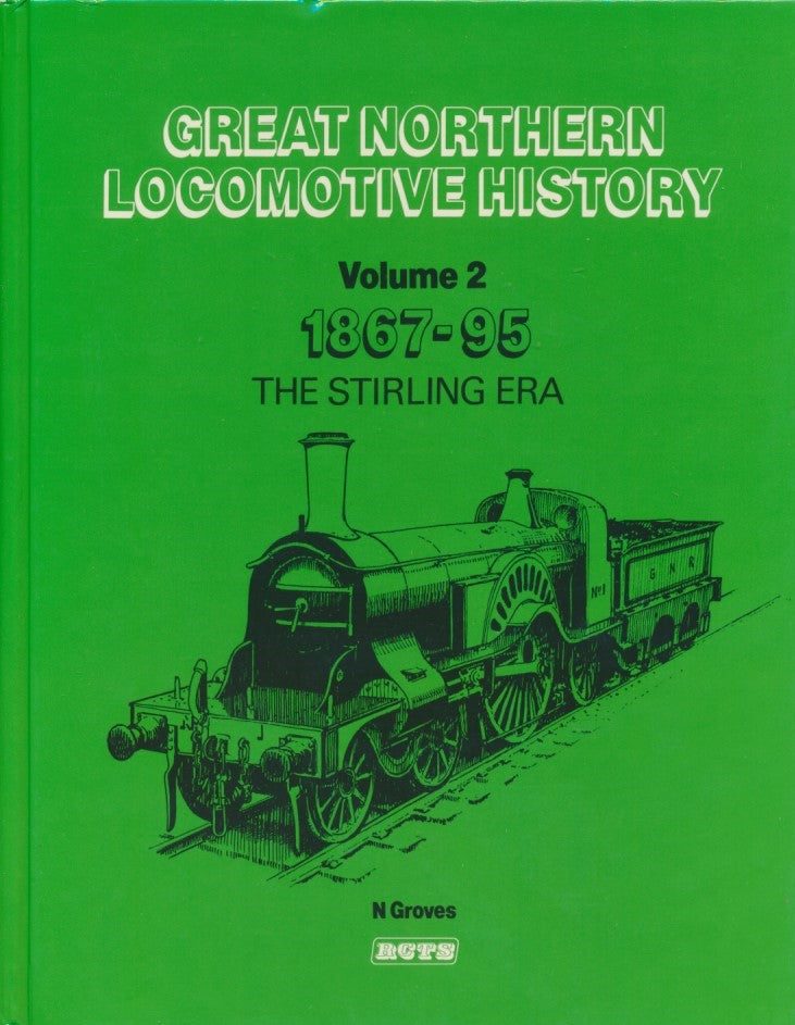 Great Northern Locomotive History, volume 2