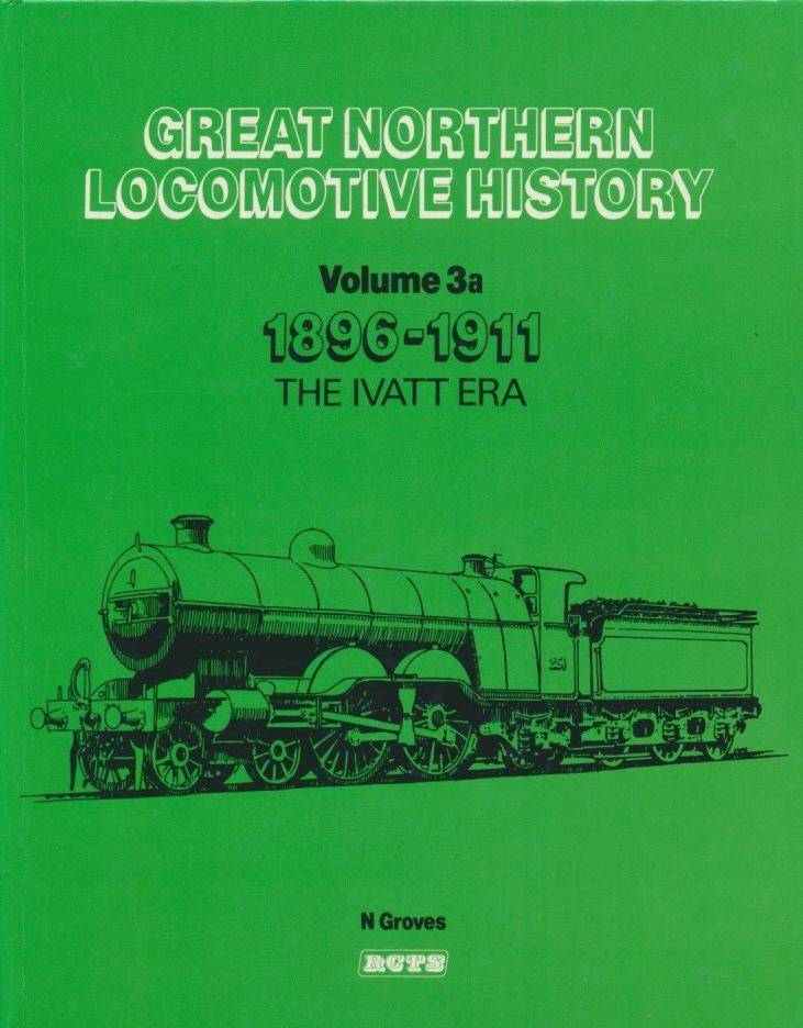 Great Northern Locomotive History, volume 3a