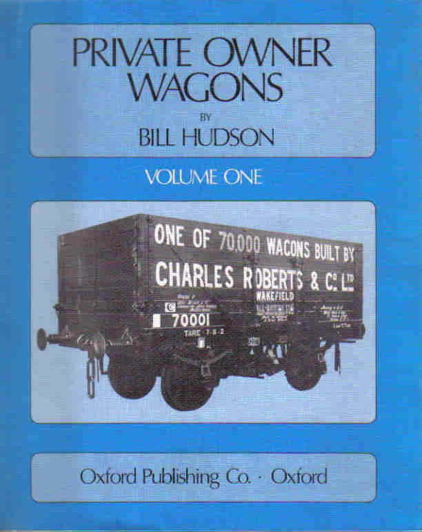Private Owner Wagons, Volume One