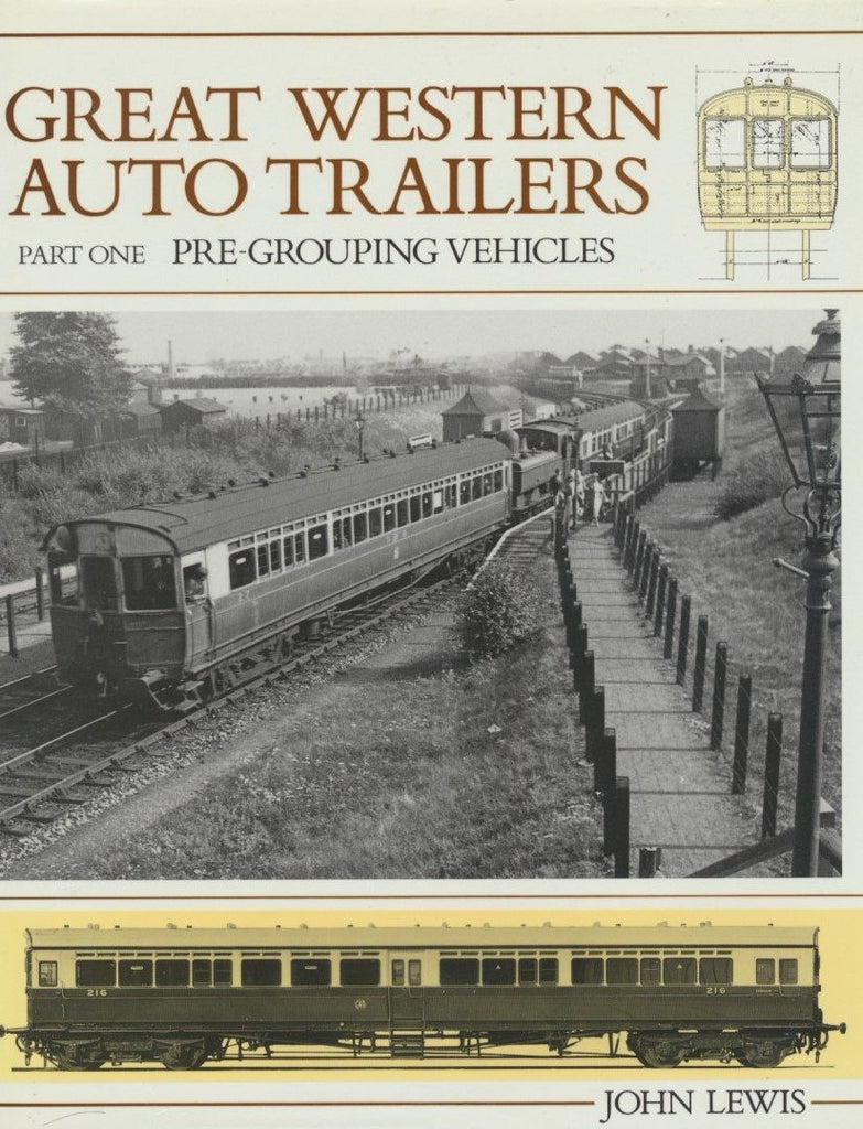Great Western Railway Auto Trailers, Part 1 - Pre-grouping Vehicles