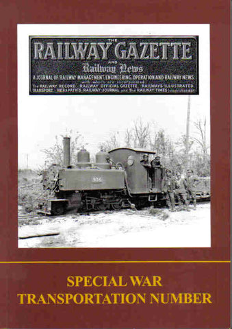 The Railway Gazette - Special War Transportation Number