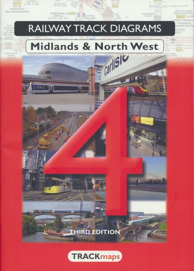 Railway Track Diagrams: 4 Midlands & North West (3rd edition)