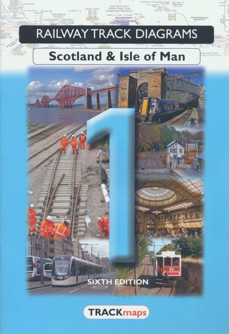 Railway Track Diagrams: 1- Scotland & Isle of Man