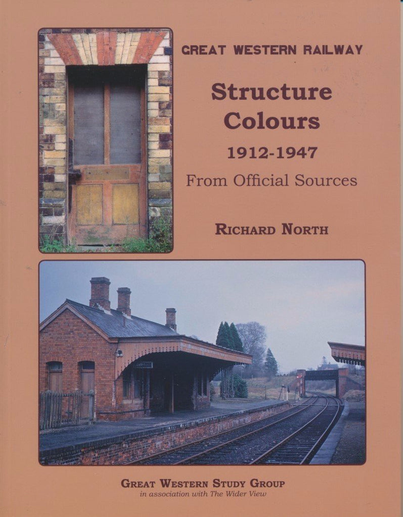Great Western Railway Structure Colours 1912-1947