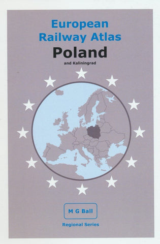 European Rail Atlas: Poland and Kaliningrad