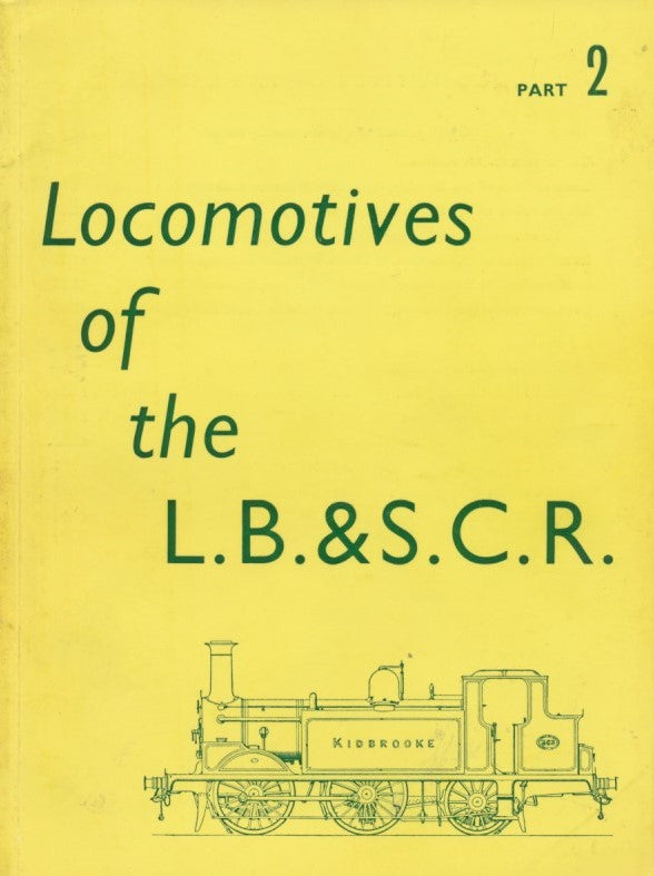 Locomotives of the L.B.&S.C.R., Part 2