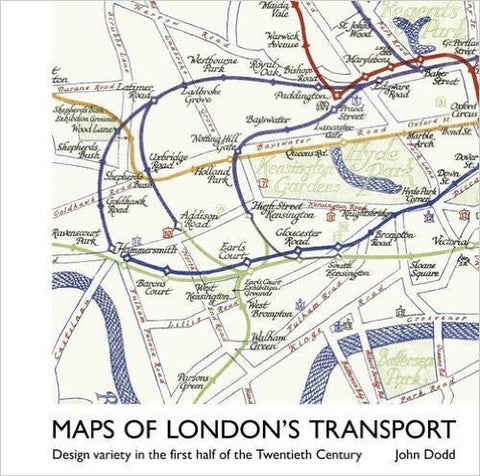 Maps of London's Transport : Design Variety in the First Half of the Twentieth Century