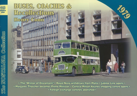 Buses, Coaches & Recollections - 1979 (The Nostalgia Collection No. 119)