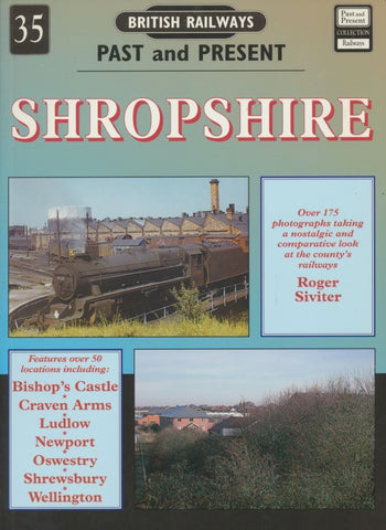 British Railways Past and Present, No. 35: Shropshire