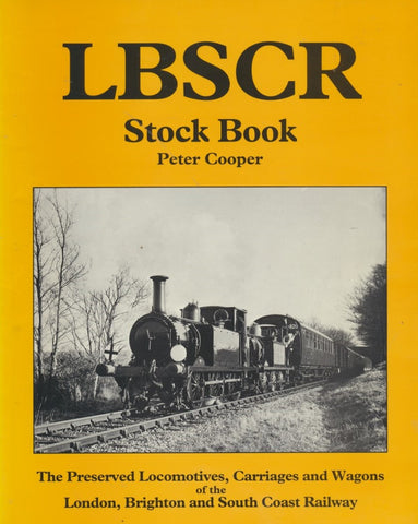 LBSCR Stock Book