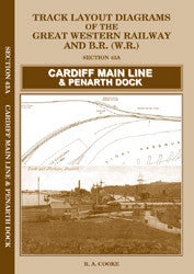 Track Layout Diagrams of the GWR - 43A Cardiff Main Line & Penarth Dock