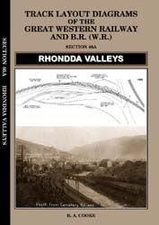 Track Layout Diagrams of the GWR - 46A Rhondda Valleys