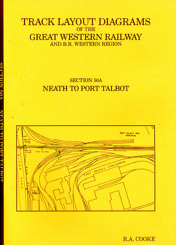 Track Layout Diagrams of the GWR - 50A Neath to Port Talbot