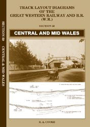 Track Layout Diagrams of the GWR - 59 Central and Mid Wales