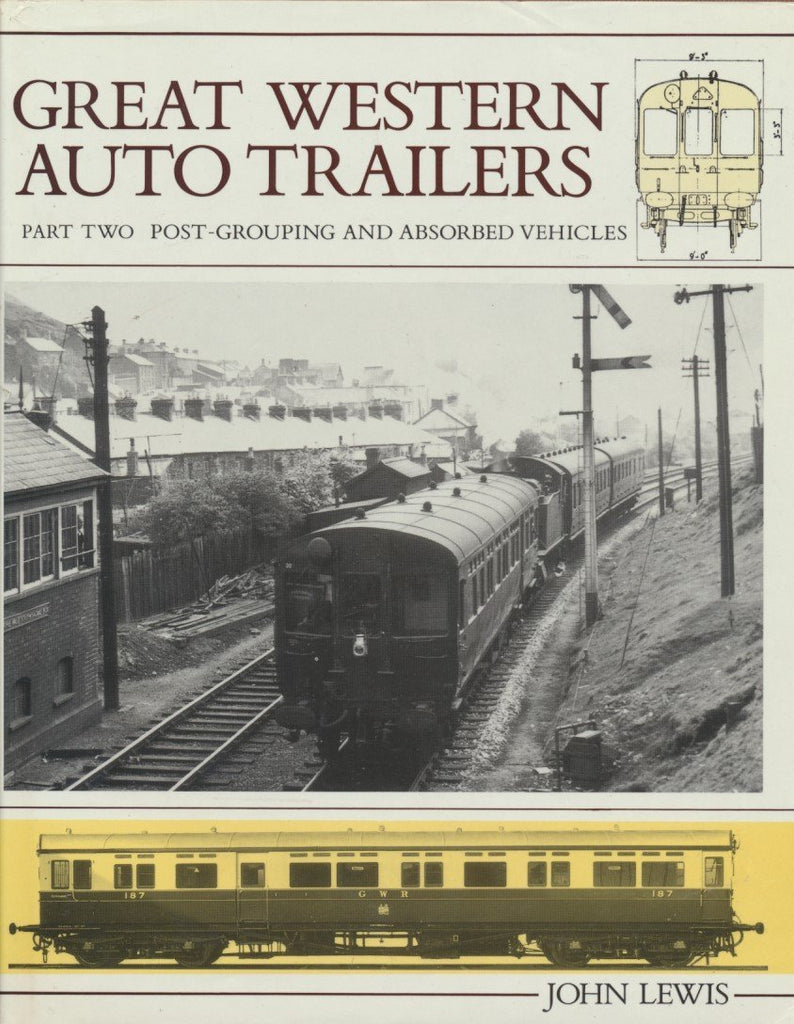 Great Western Railway Auto Trailers, Part 2 - Post-grouping and Absorbed Vehicles