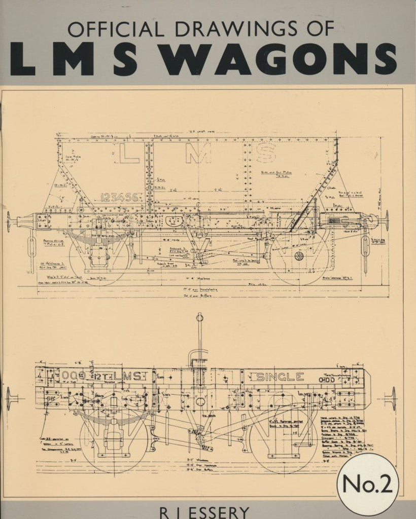Official Drawings of LMS Wagons No. 2
