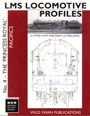 SECONDHAND LMS Loco Profiles No. 4 The Princess Royal Pacifics