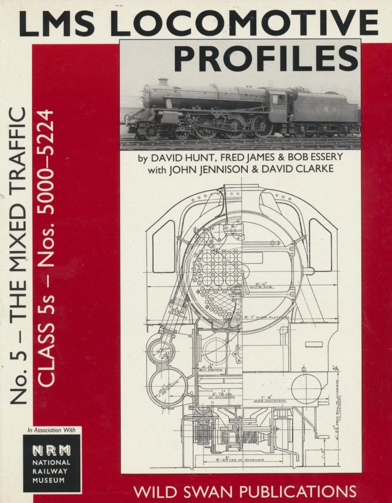 LMS Loco Profiles No. 5 Mixed Traffic Class 5s Nos. 5000-5224