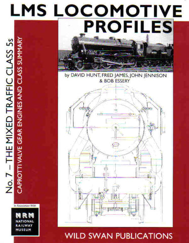 LMS Loco Profiles No. 7 Class 5 Caprotti Valve Gear Engines - SECONDHAND