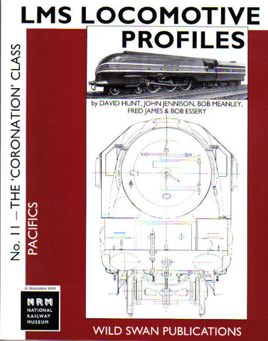 SECONDHAND LMS Loco Profiles No.11 The Coronation Class Pacifics