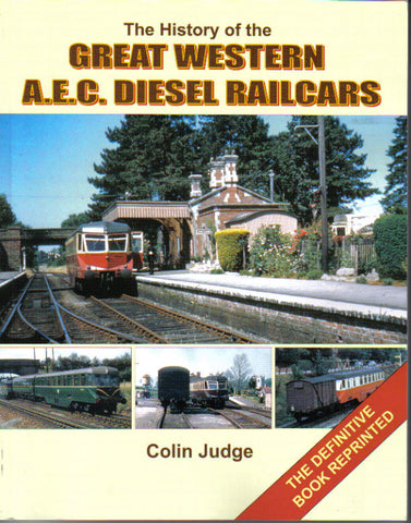 The History of Great Western AEC Diesel Railcars
