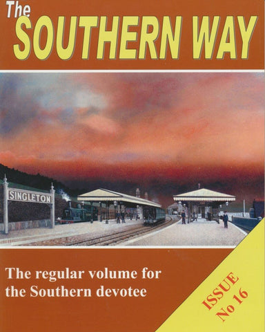 The Southern Way - Issue 16
